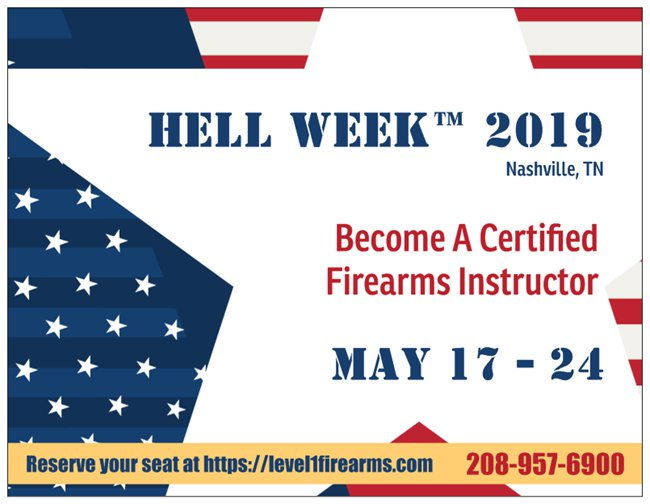 Tennessee Firearms Training | Level 1 Firearms Training